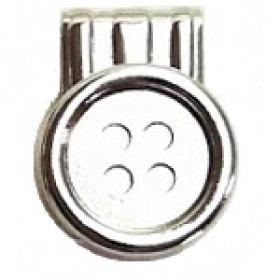 6 stk Brace Buttons - Knapper til Seler med Læderstropper