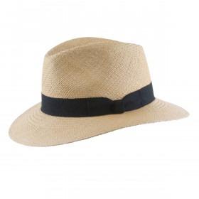 MJM Sky Panama Hat Biscotti