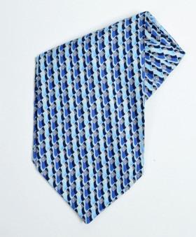 Blå Moderna Ascot Cravatte