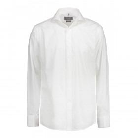 Hvid Smoking Skjorte