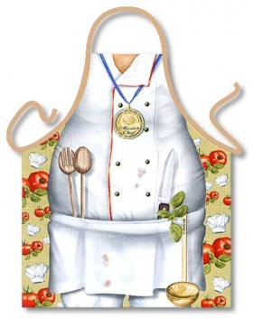 Kokkeforklæde Le Chef