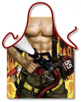 Forklæde til Brandmanden