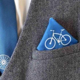 Cykelrytter Sæt - Slips med Hankie og Strømper