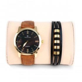 Armbåndsur & Armbånd Sæt Romano