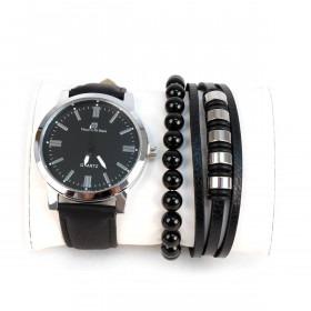 Armbåndsur & Armbånd Sæt Milanese