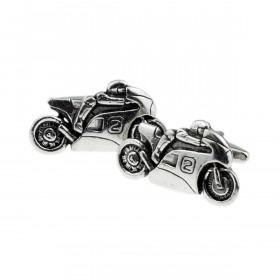 Racing Motorcykel Manchetknapper