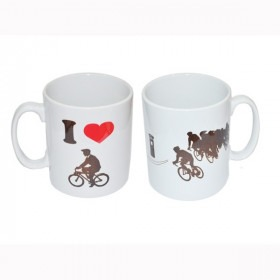 Gave krus til cyklisten