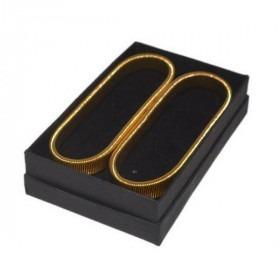 Guld Double Ærmeholder
