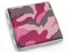 Pink Camo Cigaret Etui / Cigaretetui