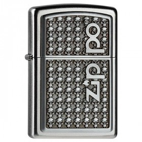 Skulls Zippo Lighter