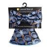 Cirkulær Bow Tie & Matching Pocket Round Set